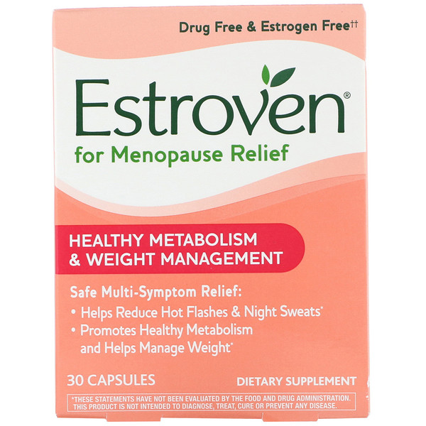 Menopause Relief, Healthy Metabolism & Weight Management, 30 Capsules