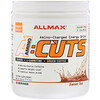 ALLMAX Nutrition, AMINOCUTS (ACUTS), Amino-Charged Energy Drink, Sweet Tea, 7.4 oz (210 g)