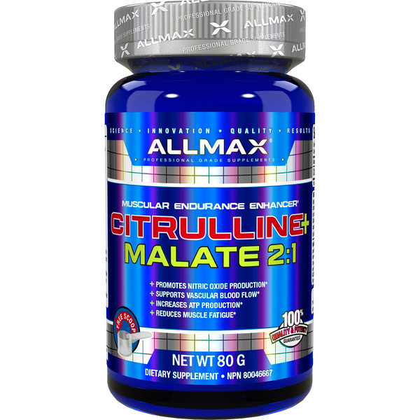 ALLMAX Nutrition, Citrulline Malate, Unflavored, (80 g)
