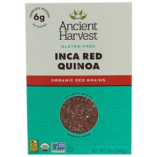 Ancient Harvest, Inca Red Quinoa, 12 oz (340 g)