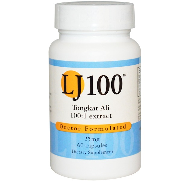 Advance Physician Formulas, 东革阿里, LJ 100,25毫克,60粒胶囊