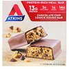 Atkins, Meal, Chocolate Chip Cookie Dough Bar, 5 Bars, 2.12 oz (60 g) Each