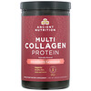 Dr. Axe / Ancient Nutrition, Multi Collagen Protein Powder, Strawberry Lemonade, 18.9 oz (535 g)