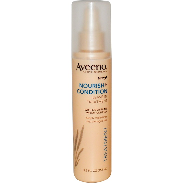 Aveeno, Active Naturals, Nourish + Condition, Leave-In Treatment, 5.2 fl oz (154 ml)