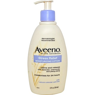 Aveeno, Active Naturals, Stress Relief Moisturizing Lotion, 12 fl oz