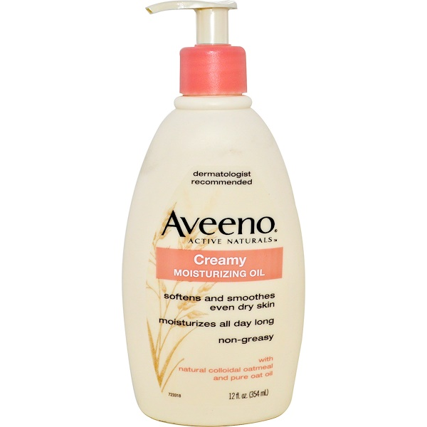 Aveeno, Active Naturals, Creamy Moisturizing Oil, 12 fl oz