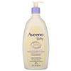 Aveeno, 舒缓舒柔乳液,薰衣花草和香草味,18 fl oz (532 ml)