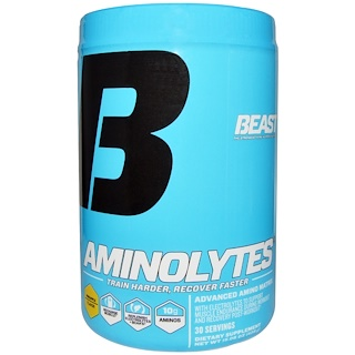 Beast Sports Nutrition, Aminolytes, Pineapple Flavor, 15.08 oz (428 g)