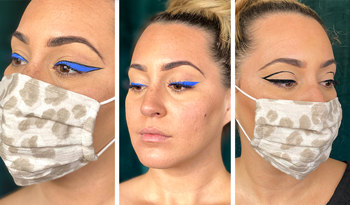 3 Bold Eyeliner Looks That Look Great With A Face Mask