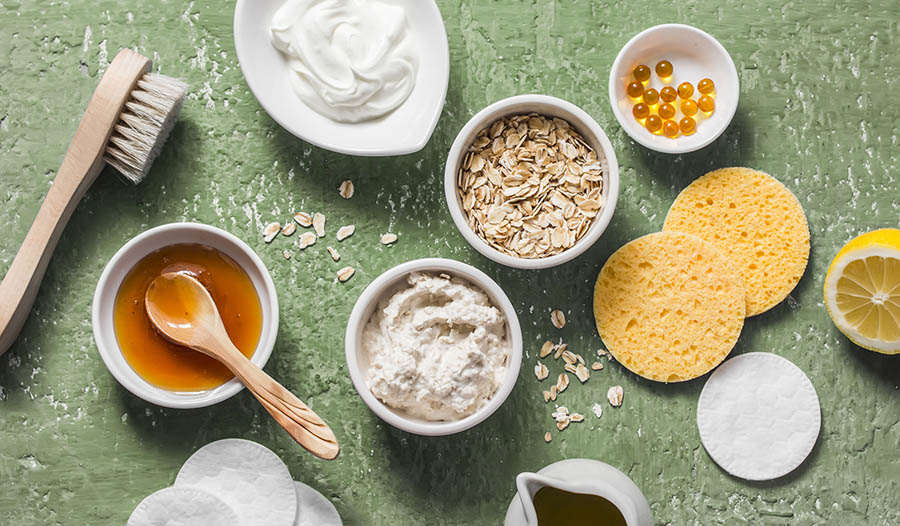 Natural Ingredients to Hydrate Dry Skin from Head to Toe