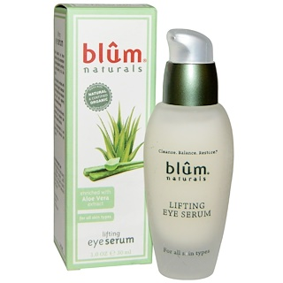 Blum Naturals, Lifting Eye Serum,1.0盎司(30 ml)