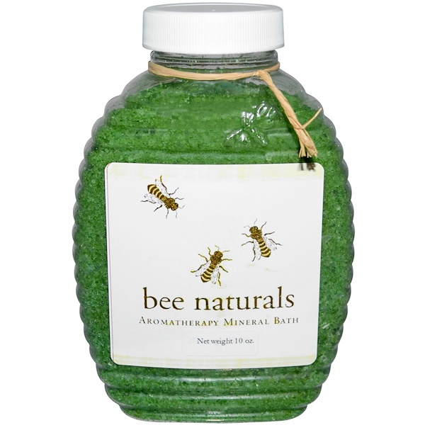 Bee Naturals, Aromatherapy Mineral Bath, 10 oz (Discontinued Item)