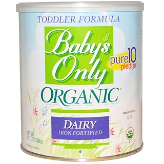 Nature's One, Organic, Toddler Formula, Dairy, 12.7 oz (360 g)