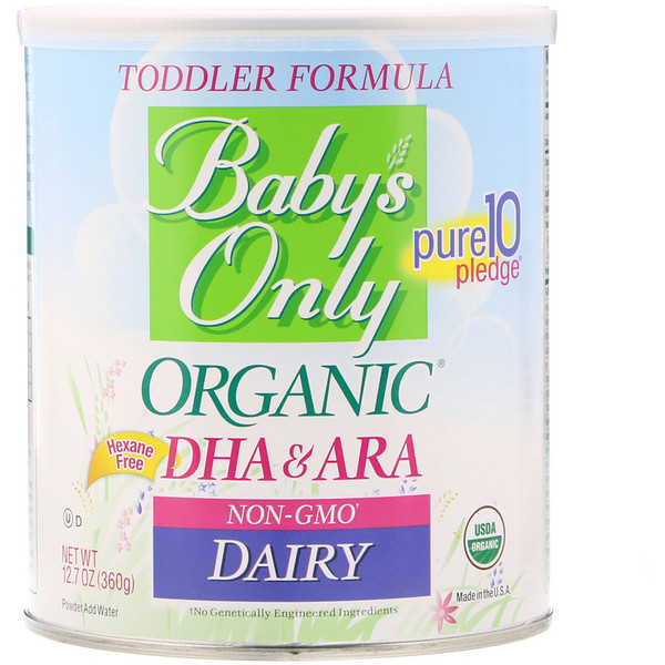 Nature S One Baby S Only Organic Toddler Formula Dha