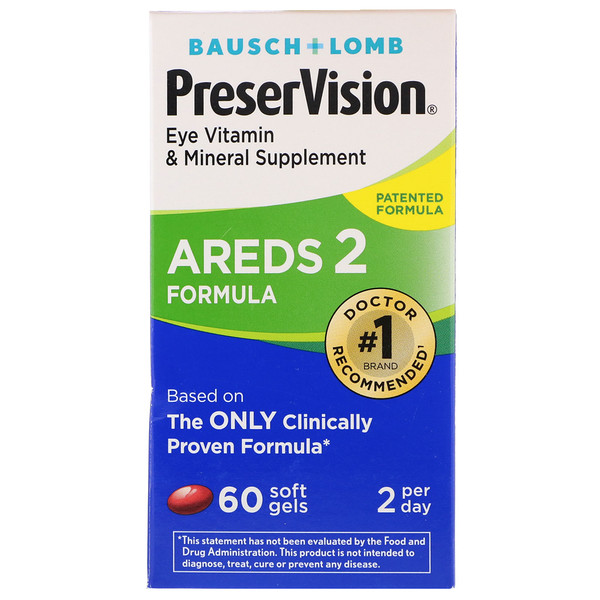 PreserVision, AREDS 2 Formula, 60 Soft Gels