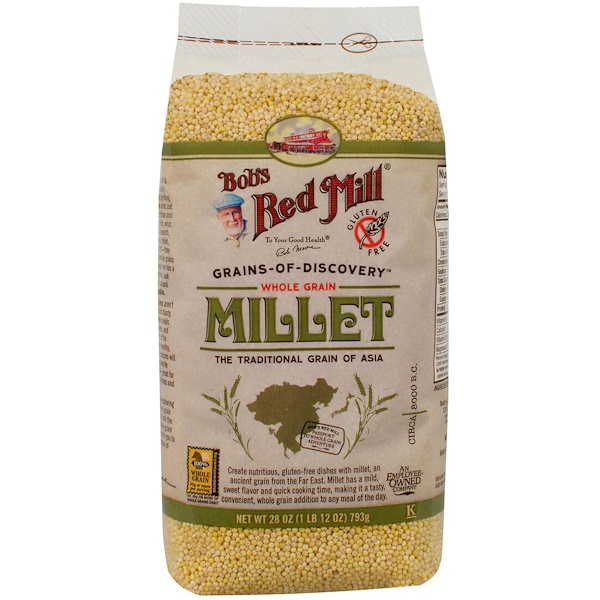 Bob's Red Mill, Millet, Whole Grain, 28 oz (793 g)