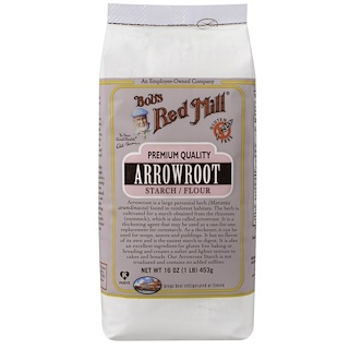 Bob's Red Mill, Arrowroot Starch / Flour, 16 oz (453 g)