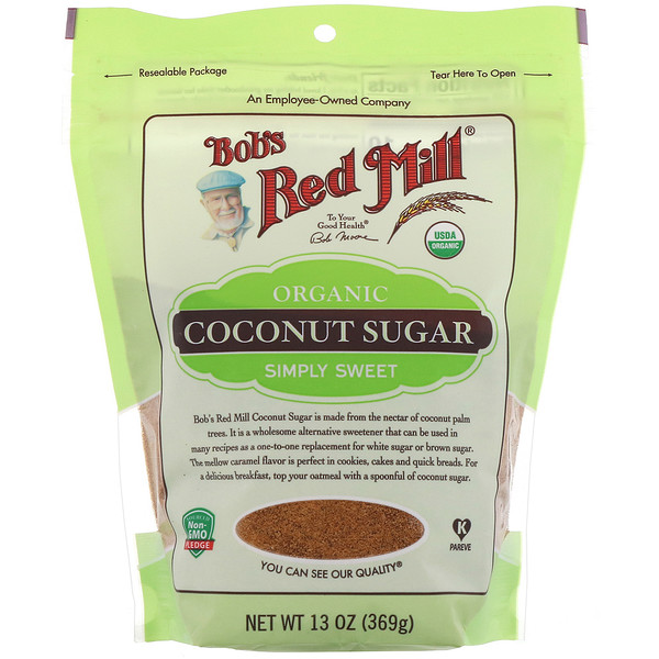 Bob's Red Mill, Organic, Coconut Sugar, 13 oz (369 g)