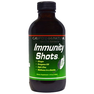California Natural, Immunity Shots 4 液量盎司(118毫升)