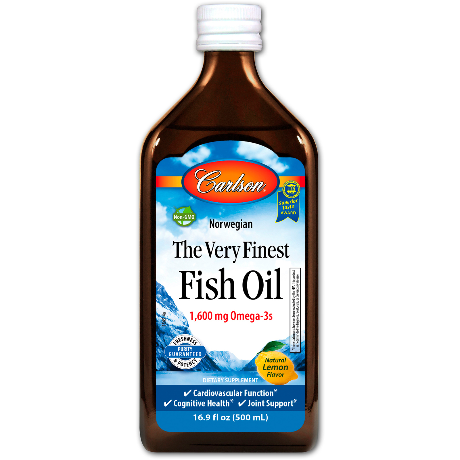 Carlson labs 16 9 500 for What is the best oil to fry fish in