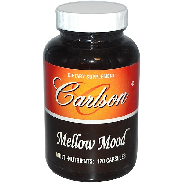 Carlson Labs, Mellow Mood, 120 Capsules (Discontinued Item)