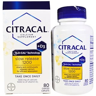 Citracal, 钙D1200,80片