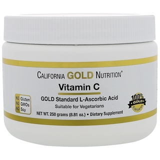California Gold Nutrition, 维生素 C,8.81 盎司(250 克)