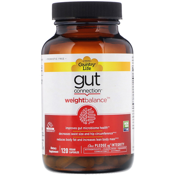 Gut Connection, Weight Balance, 60 Vegan Capsules