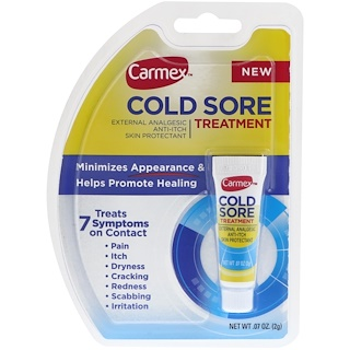Carmex, Cold Sore Treatment, .07 oz (2 g)