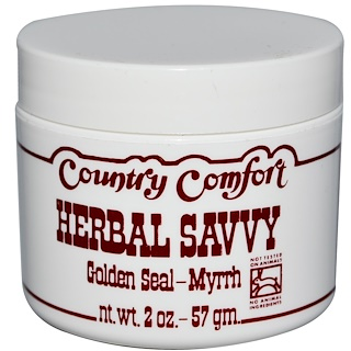 Country Comfort, Herbal Savvy白毛茛-没药,2盎司(57克)