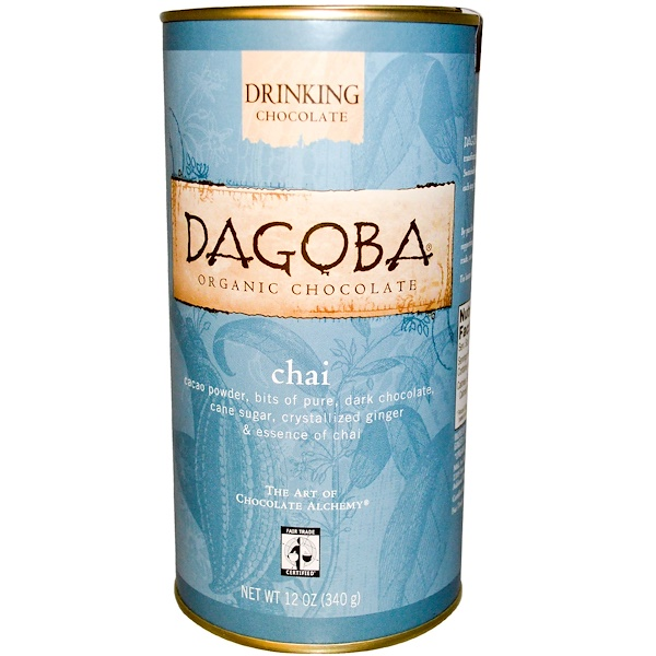 Dagoba Organic Chocolate, 巧克力茶,12盎司(340克) (Discontinued Item)