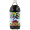 Dynamic Health  Laboratories, Pure Blueberry, 全 Juice Concentrate, Unsweetened, 16 fl oz (473 ml)