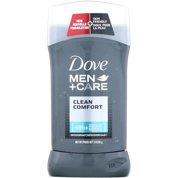 Dove, Men+Care 男士清爽舒适香体膏,3 盎司(85 克)
