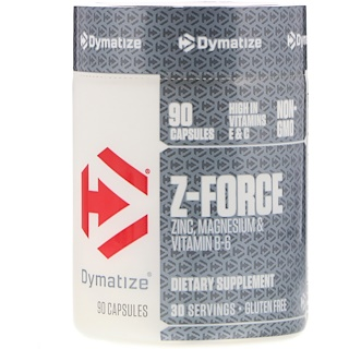 Dymatize Nutrition, Z-Force,90 粒胶囊