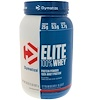 Dymatize Nutrition, Elite 100% Whey Protein Powder, Strawberry Blast, 32 oz (907 g)
