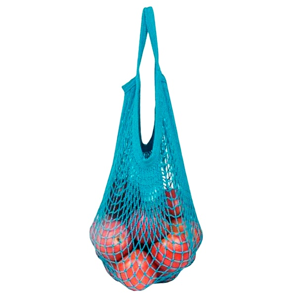 ECOBAGS, Tropical Collection, Classic String Market Bag, Set-Assorted Tropicals Colors, 1 Bag (Discontinued Item)