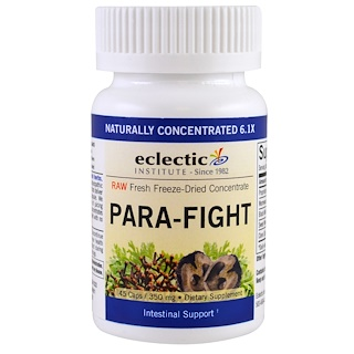 Eclectic Institute, Para-Fight,维护肠道健康,350 mg,45粒胶囊