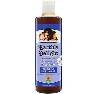 Earthly Delight, Shampoo, Tropical Rain, 16 fl oz (454 ml)