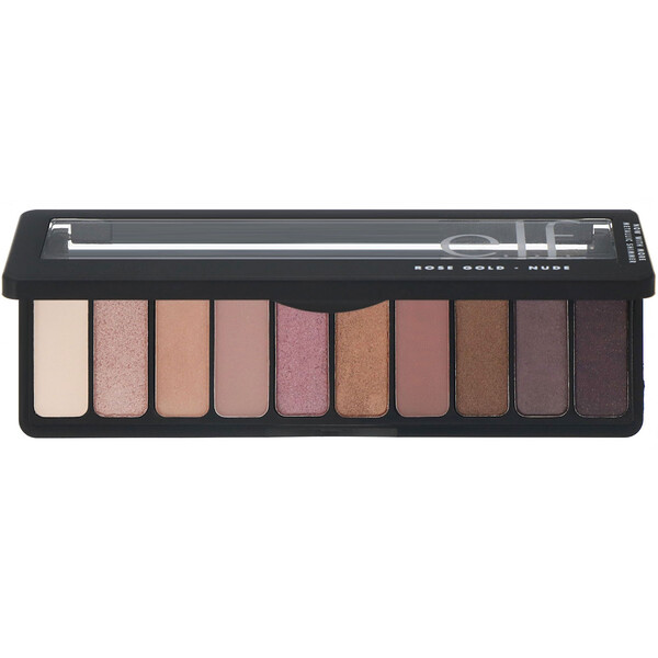 E.L.F., Rose Gold Eyeshadow Palette, Nude, 0.49 oz (14 g)