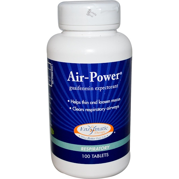 Enzymatic Therapy, Air-Power,呼吸片,100片
