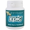 Epic Dental, Xylitol Gum, Sugar Free, Wintergreen, 50 Pieces