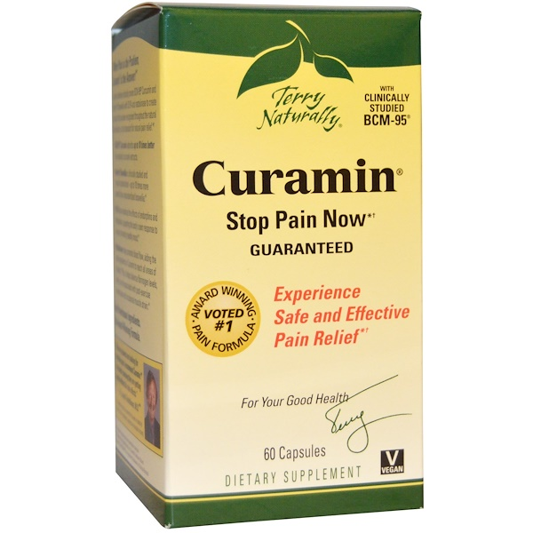 EuroPharma, Terry Naturally, Terry Naturally,Curamin,60粒胶囊 (Discontinued Item)