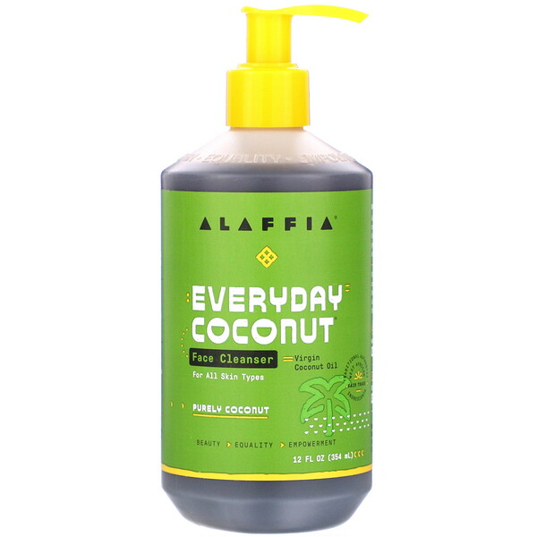 Everyday Coconut, Face Cleanser with Papaya & Neem, 12 fl oz (354 ml)