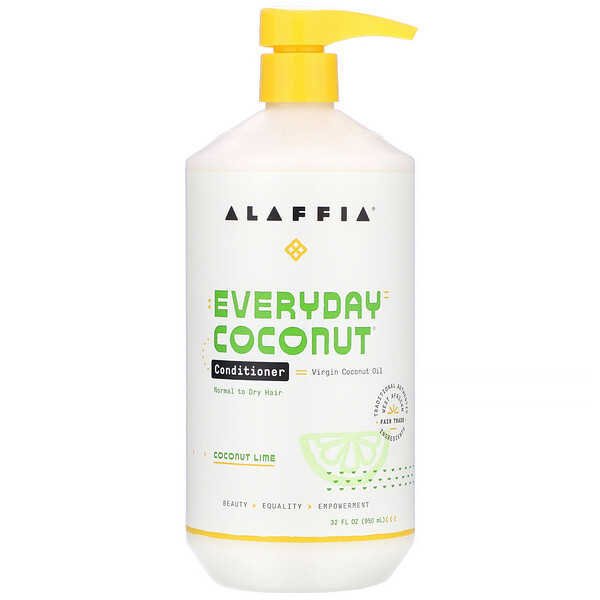 Conditioner, Ultra Hydrating, Normal to Dry Hair, Coconut Lime, 32 fl oz (950 ml)