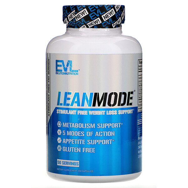 EVLution Nutrition, LeanMode, 150 Capsules