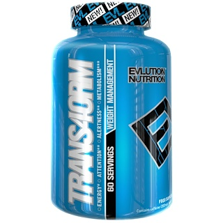 EVLution Nutrition, Trans4orm,120粒