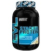 EVLution Nutrition, Stacked Protein饮料混合粉,香草冰淇淋,2磅(900克)