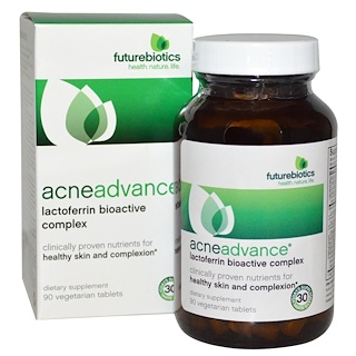FutureBiotics, AcneAdvance,90片,素食性