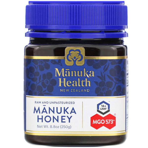 Manuka Health, Manuka Honey, MGO 573+, 8.8 oz (250 g)