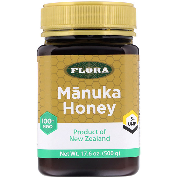 Manuka Honey, MGO 100+, 17.6 oz (500 g)
